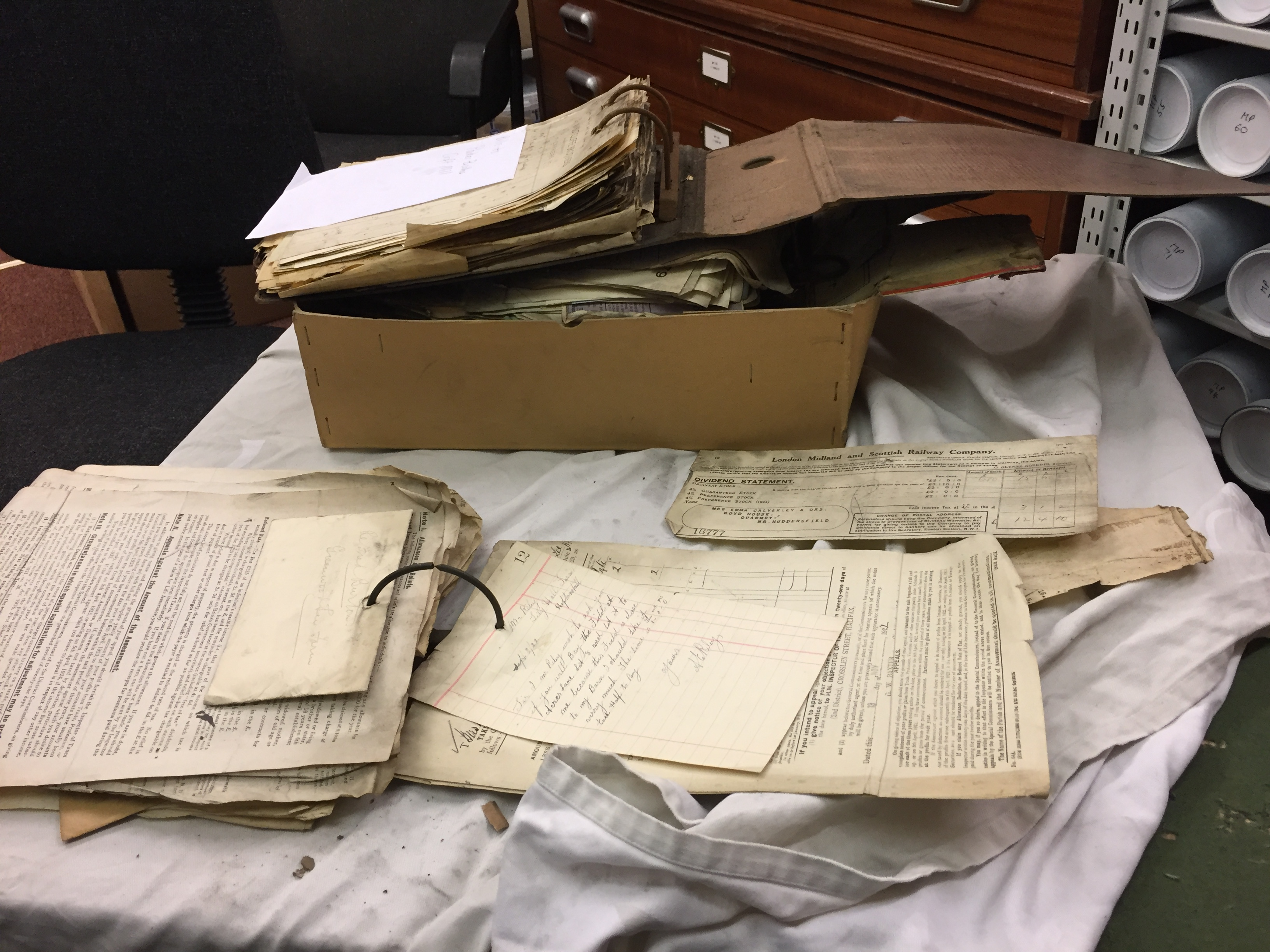 Unearthing the Gibson papers